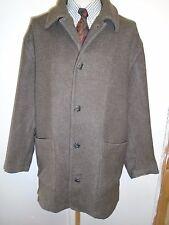 "Vintage Hugo Boss Wool Winter Coat / Jacket Size L 44-46"" Euro 54-56 - Brown"
