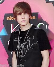 Justin Bieber  8 x 10 Autograph Reprint  Singer-songwriter  Beauty and a Beat