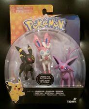 Tomy Pokemon Umbreon Sylveon Espeon Articulated Figures NEW