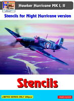 H-Model Decals 1/32 Hawker Hurricane Mk.I/II Night Hurricane Stencils # 32005