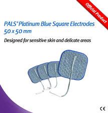 Pals Platino Electrodos Cuadrado Azul 50x50mm-para la piel sensible pk4