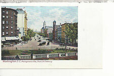 Pennsylvania Avenue from Treasury   Washington D.C. UDB Postcard 3117