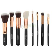 Makeup Brush Set Kit 8-pcs Cosmetic Eyeliner Blush Contour Powder Cream Conceale