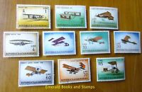 EBS San Marino 1962 - Vintage Planes - 587-596 MNH**