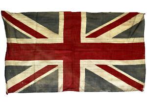 Vintage Union Jack, Printed Parade Flag, 1930
