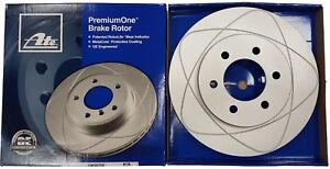 2 x ATE PremiumOne FRONT BRAKE DISC FOR FORD EXPEDITION  2003-2006