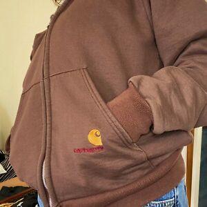 carhartt zip hoodie S/M Perfect