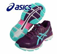 Asics Women's Gel Nimbus 18 Purple Running Shoes,Sneakers T650N-3340