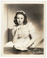 Deanna Durbin LOVELY PORTRAIT 17 YEARS OLD THAT CERTAIN AGE 1938 ORIG PHOTO 356