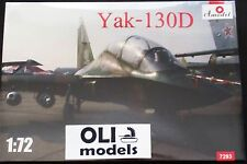 1/72 Yakovlev Yak-130D Russian Combat Trainer Jet - Amodel 7293