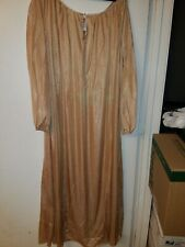SLIGHTLY IMPERFECT  CALF LENGTH  BERRY WITH LACE TRIM  NIGHTGOWN  SIZE 4X//5X