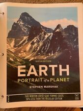 Earth Portrait of a Planet - Sixth 6th Edition by Stephen Marshak - Loose Leaf
