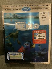 Finding Nemo Ultimate Edition 3D Blu-ray/DVD - 5-Disc Set, Includes Digital Copy