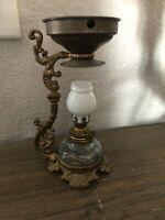 Antique Vapo Cresolene Oil Lamp Cure All Medical Device Miniature Complete