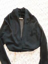 Bolero noir en voile MANOUKIAN taille 40/42