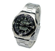 -Casio AQ164WD-1A Analog Digital Watch Brand New & 100% Authentic