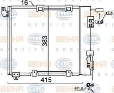 8FC 351 301-374 Hella Condensador De Aire Acondicionado