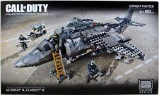 Mega Bloks Call of Duty Combat (Strike) Fighter Jet Building Set 652 piece Cng86
