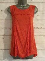 Ladies Vest Top NEXT Size 14 ORANGE Sleeveless Summer/Holiday Women's Casual