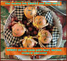 Halloween Americana Prim Gourd Scarecrow Pumpkin Ornies Fall Primitive Bowl Fill
