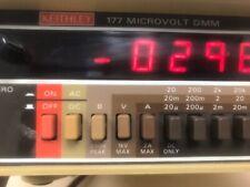 KEITHLEY INSTRUMENTS MODEL 177 MULTIMETER