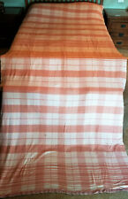 Extra Large (13 foot x 5 ft) Thin Wool Blanket  PLEASE READ ALL Double long