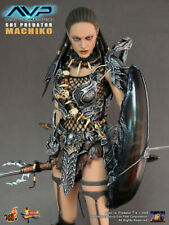 "1/6 SCALE Hot Toys AvP She Predator Machiko 12"" action figure"