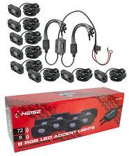8 Pack Marine Grade LED Lighting System Accent Kit 75W HEISE