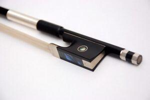 VIOLIN BOW New Superior carbon fibre three quarter size  3/4  FAST DELIVERY