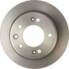 For Kia Hyundai FWD Rear Left or Right Brake Disc Rotor Solid 262 Coated Brembo
