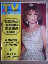 TV Sorrisi e Canzoni n°37 1966 Programma e Personaggi Festival di Napoli  [G584]