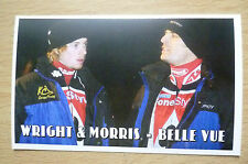 Speedway History Cards- JAMES WRIGHT & PHIL MORRIS (Belle Vue), No.8