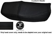 BLACK VINYL CUSTOM FITS HONDA CB 250 NIGHTHAWK DUAL SEAT COVER ONLY