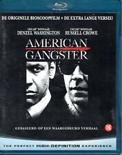 BLU-RAY   -  AMERICAN GANGSTER danzel washington - russell crowe EX+