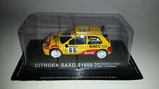 CITROEN SAXO S1600 RALLY CATALUNIA 2002 DE AGOSTINI SCALA 1:43