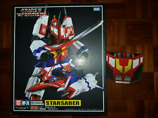 New Takara Tomy Transformers Masterpiece MP-24 Star Saber With Exclusive Coin