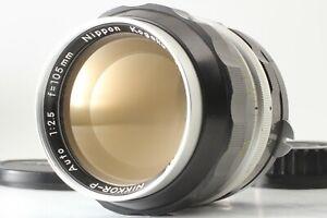 【NEAR MINT+++】 Nikkor-P Auto 105mm f/2.5 Portrait Telephoto MF from JAPAN #N1163