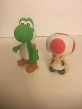 Nintendo Super Mario Bros. ~ Yoshi & Toad Action Figure