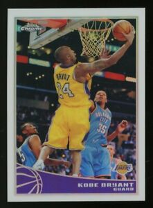 2009-10 Topps Chrome Refractor #44 Kobe Bryant Lakers HOF 119/500 w/ Durant
