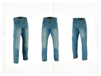 MENS MOTORBIKE DENIM REINFORCED JEANS PANT CE ARMOUR PROTECTIVE LINING TROUSER