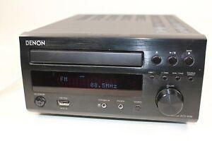 Denon RCD-M38-K Receiver CD Integrated Amplifier Black