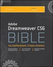 Adobe Dreamweaver Cs6 Bible 1/e International Edition
