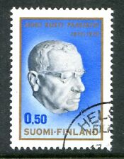 Finland Stamps Scott #502 President Juho Paasikivi 1970