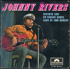 JOHNNY RIVERS SEVENTH SON 45T EP BIEM POLYDOR 27.768