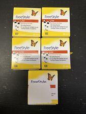 500 Freestyle Lite Diabetic test strips