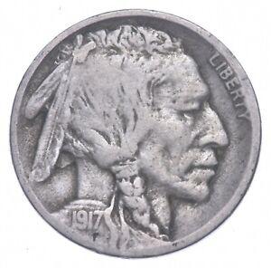 1917-D Indian Head Buffalo Nickel *541