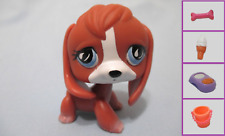 Littlest Pet Shop Beagle Puppy Dog #567 Brown + 1 FREE Accessory.100% Authentic