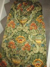 1 Paio Di Vintage Sanderson Tende in tessuto cascacs