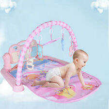 New listing Xmas Gift Baby Gym Play Mat Musical Activity Center Kick And Play Piano Toys