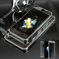 360 Degree Mirror PC Case Shockproof Hard Thin Cover For iPhone 7 Plus 6S Glass